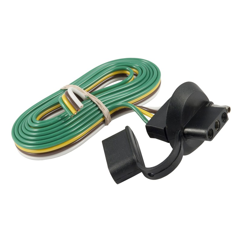 4 wire round trailer plug wiring 4 wire trailer light Four Pin Trailer Wiring Diagram Dodge 7 Pin Trailer Wiring Diagram