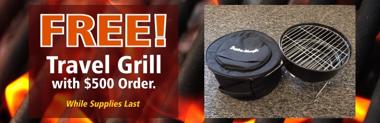 Free Travel Grill - Oct 2014