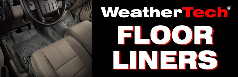WeatherTech Floor Liners - Oct 2014