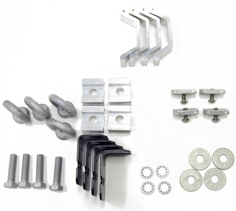 Rhino Rack Alloy Tray Fitting Kit For Roof Rack